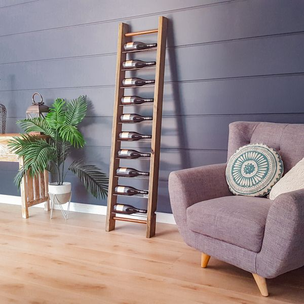 Cool Ladder Wine Rack