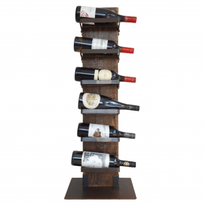 recycled wood wine rack - The Heavy drinker