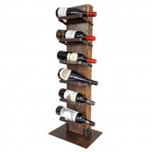 timber wine rack - heavy drinker