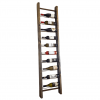 ladder timber wine display