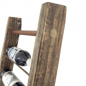 Wood wine display