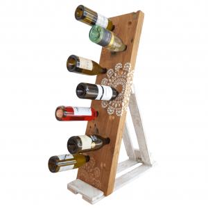 wine rack stencil affair