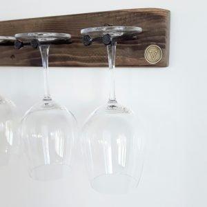 Wine Glass Holder Grey