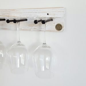 Wine Glass Holder White