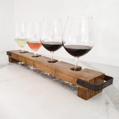 wine tasting paddle