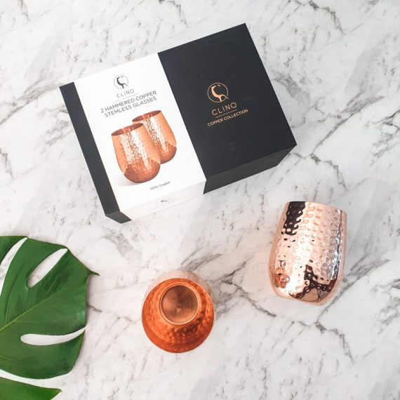 Copper Wine Glasses