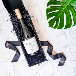 luxury single bottle gift box