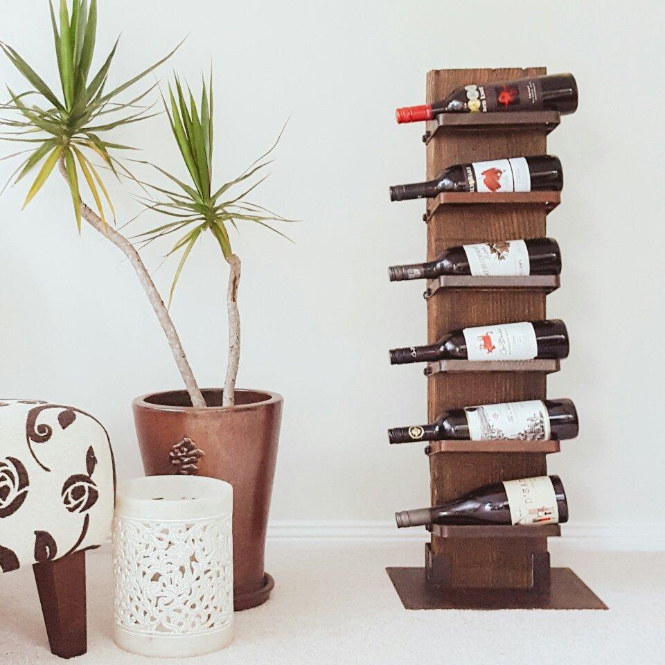 Heavy Drinker Wine Rack