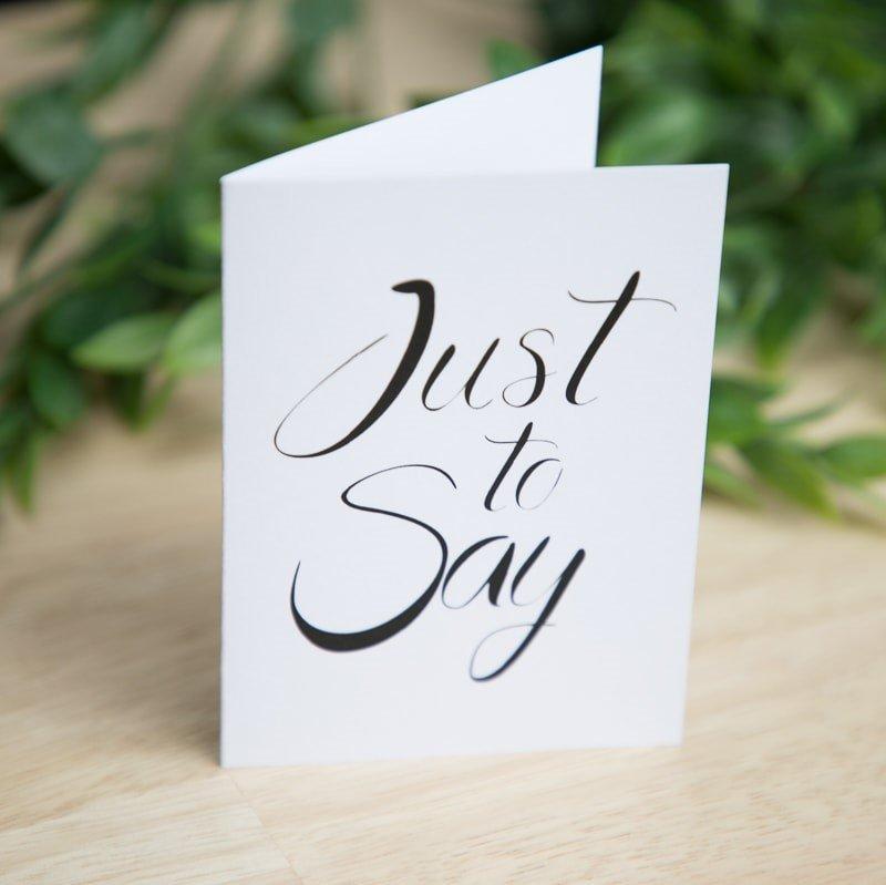 Personalised Greetings Card