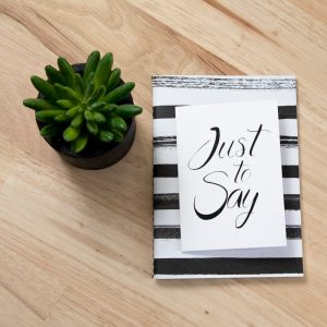 Personalized Greetings Card
