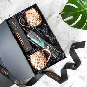 Moscow Mule Gift Box Copper Mugs