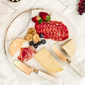 marble cheese board platter