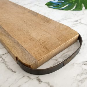 large serving board with handles