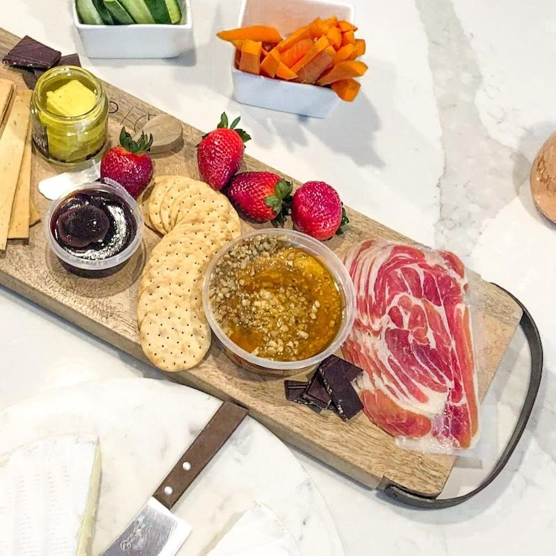 long cheese board