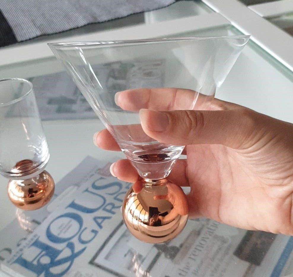 clinq martini glass