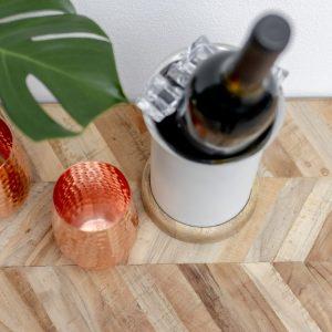 Timber Single Bottle Wine Cooler