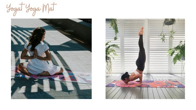 Yoga mat mothers day gift