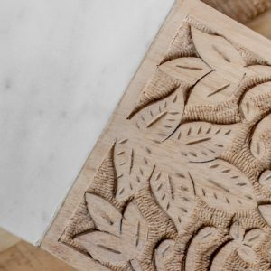 hand carved timber marble cheese board