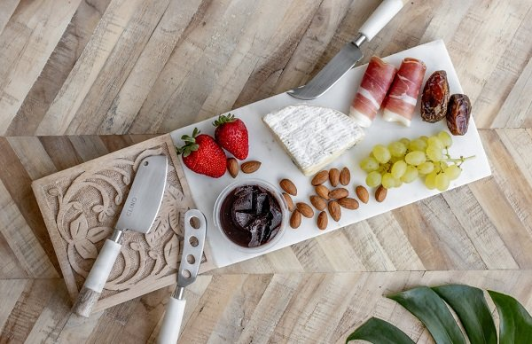 Timber Marble Cheese Board