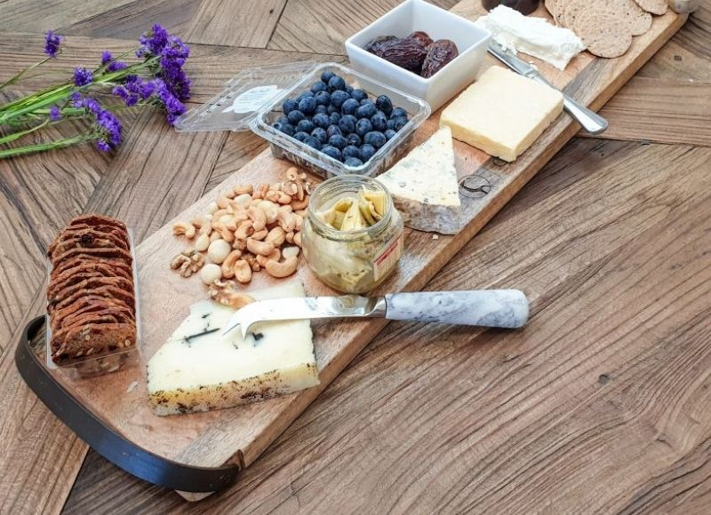 Large Cheese Board with snacks